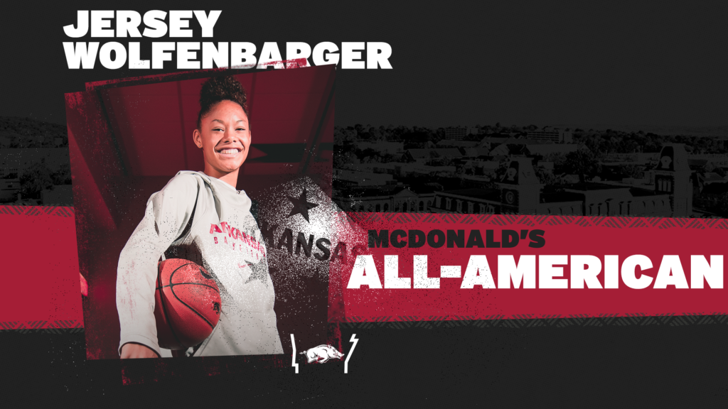 Wolfenbarger Selected as a McDonald's All-American
