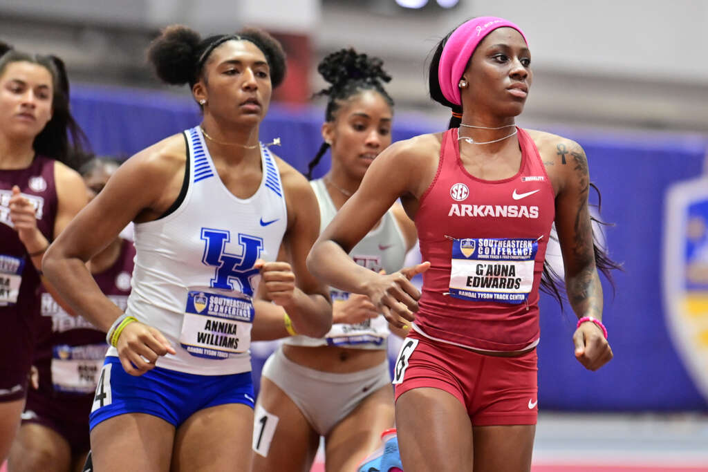 Pair of bronze medals for Razorbacks on SEC opening day