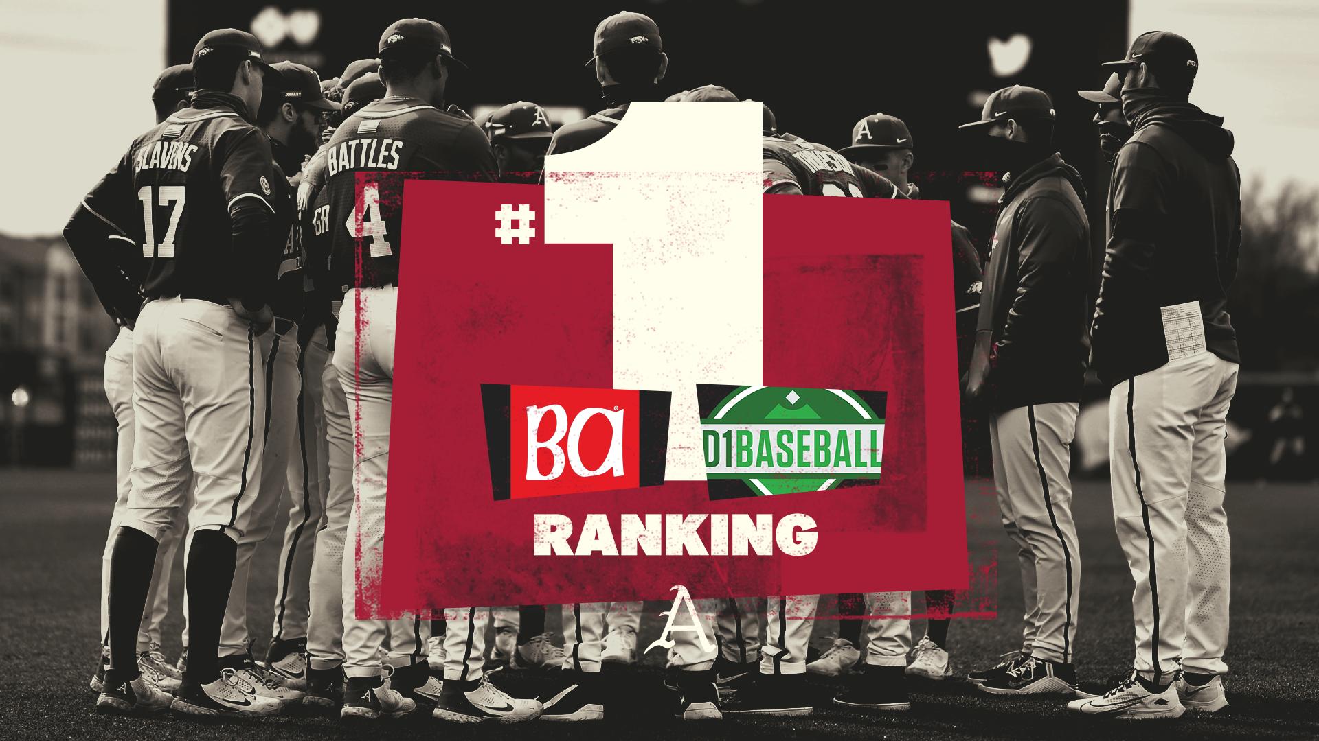 Razorbacks Sit atop Baseball America, D1Baseball Polls