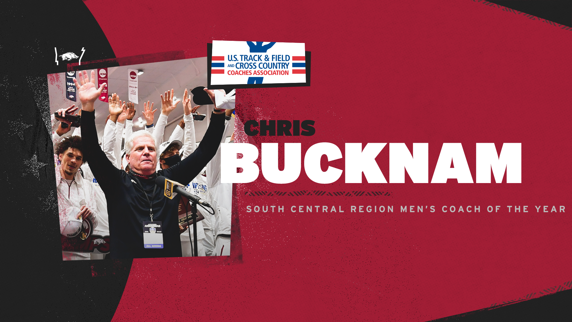 Bucknam garners South Central Region Coach of the Year