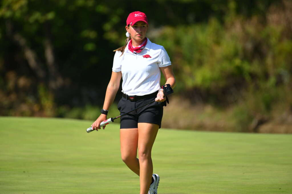 Arkansas Tied For 12th After Round One