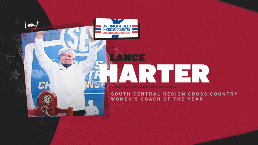 Harter collects 10th consecutive South Central Region honor