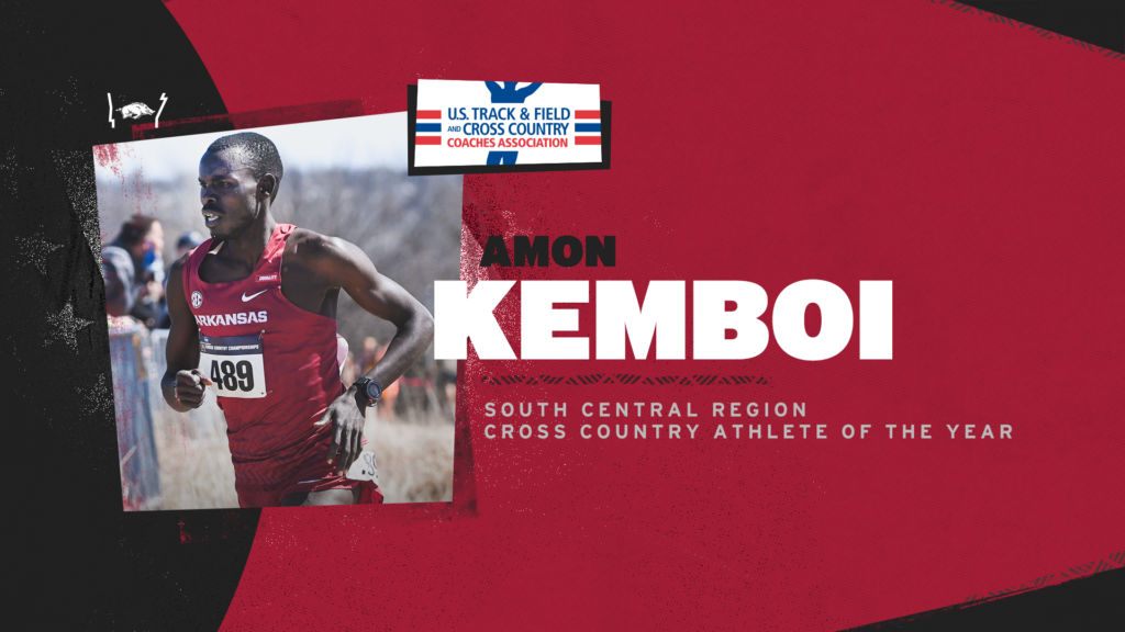 South Central Region honors for Amon Kemboi, Chris Bucknam