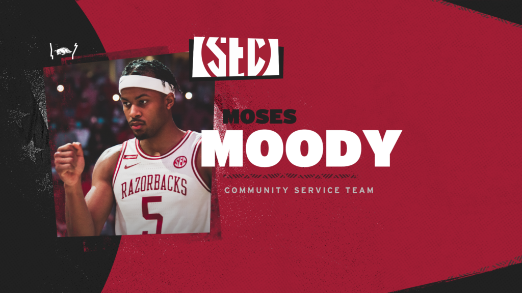 Moody Selected for SEC Community Service Team