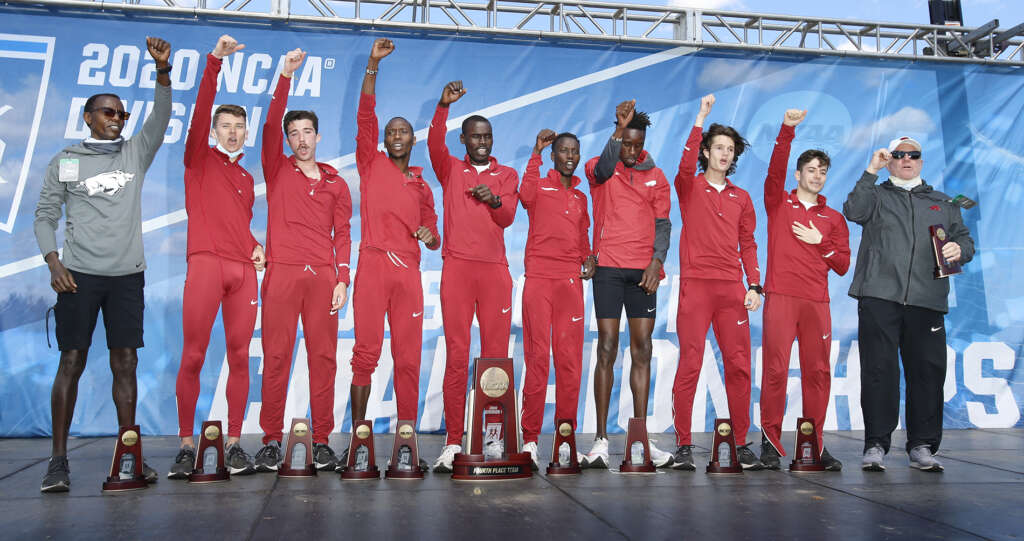 Razorbacks respond to challenge, finish fourth in NCAA Championships