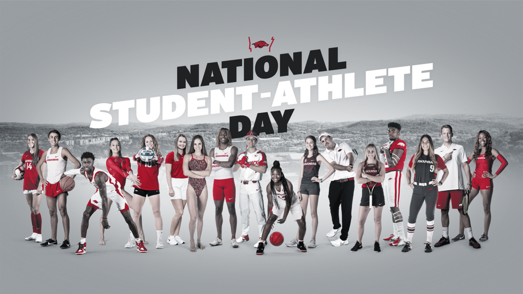 Razorbacks Celebrate National Student-Athlete Day