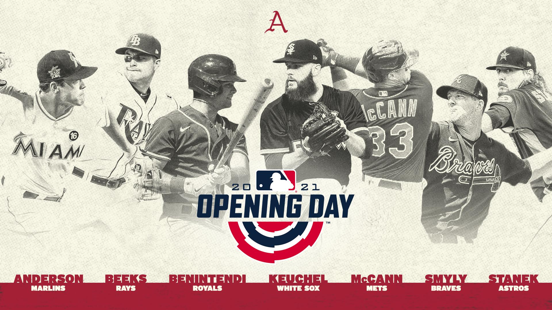 Seven Former Razorbacks on MLB Opening Day Rosters