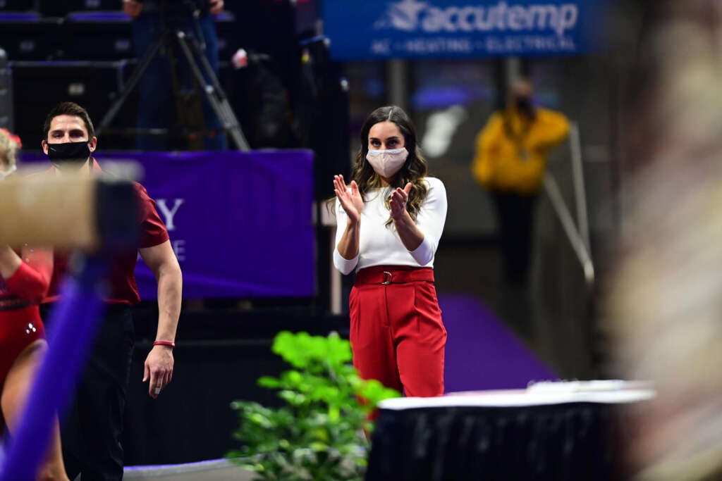 Gymbacks Look Ahead to NCAA Championships in Fort Worth