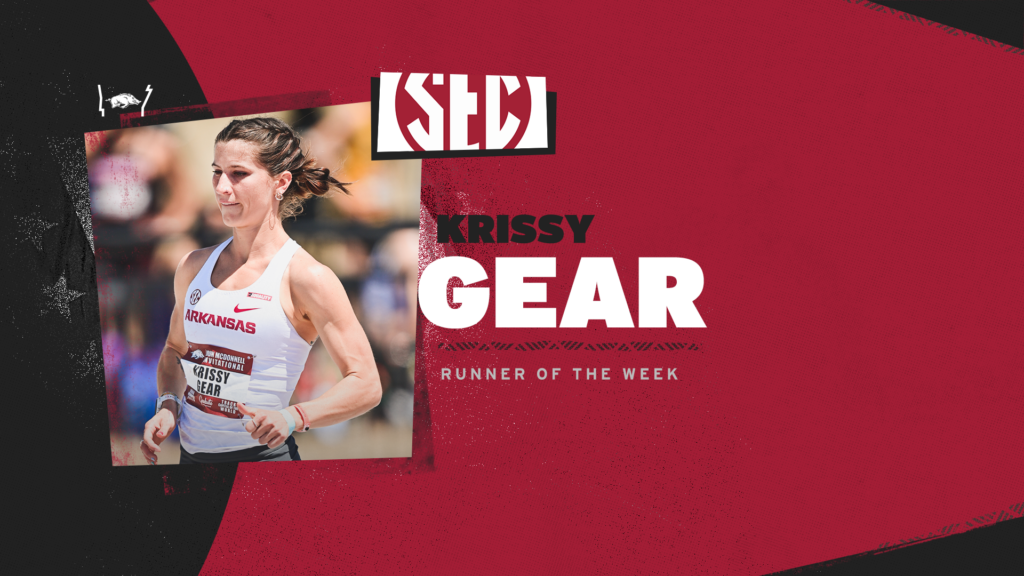 SEC Runner of the Week accolade for Krissy Gear
