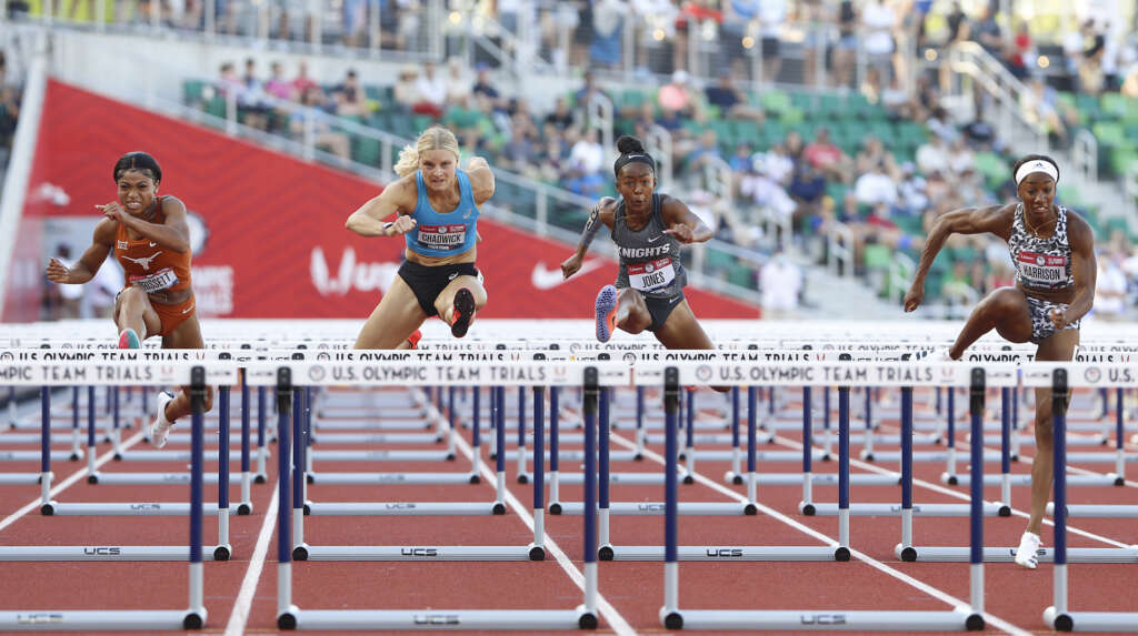Payton Chadwick finishes 7th in Olympic Trials 100m hurdles final