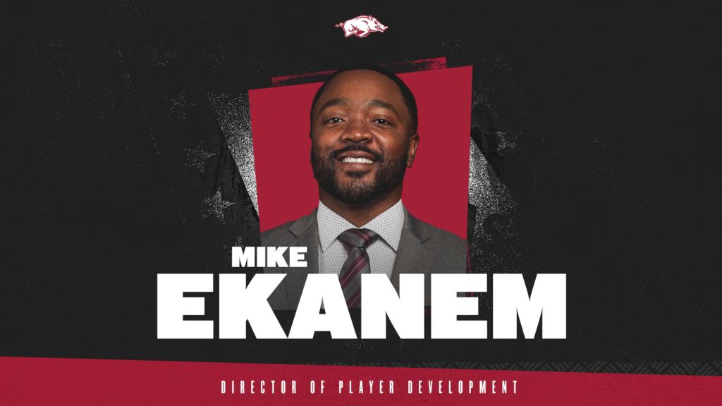 Mike Ekanem Joins Razorback Basketball Staff