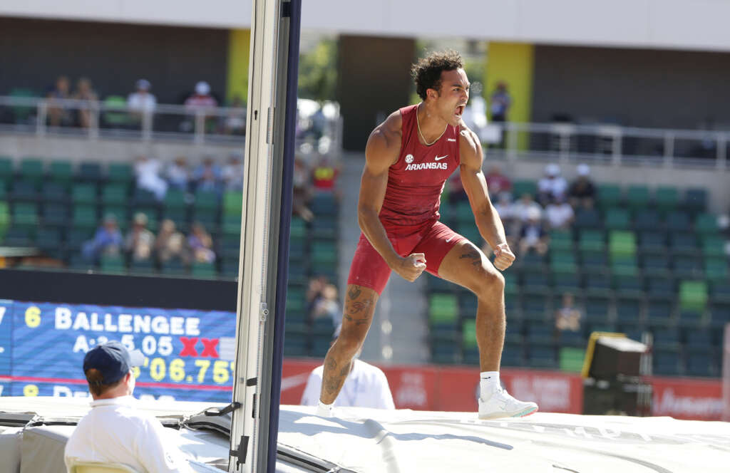 Ballengee breaks UA decathlon record, places 7th in Olympic Trials