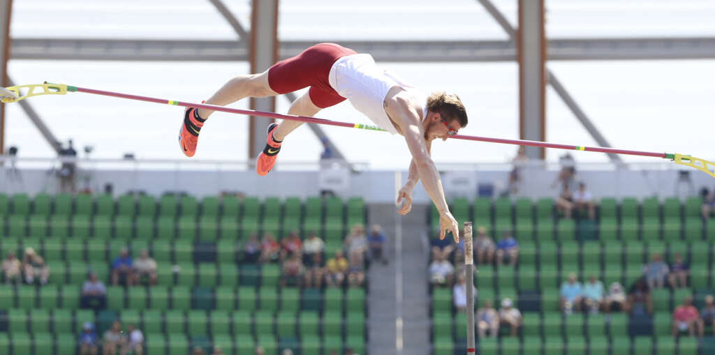 Andrew Irwin sixth in Olympic Trials pole vault final