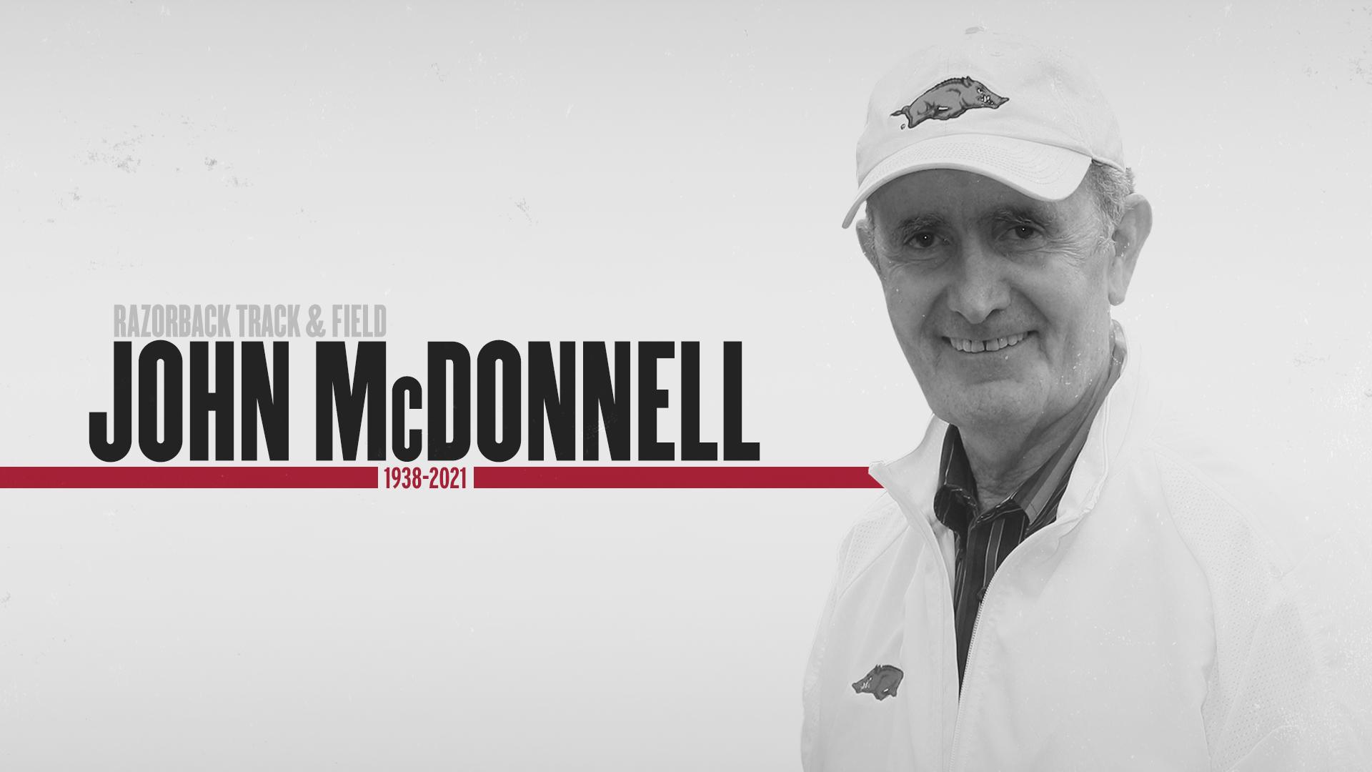 Legendary Arkansas Track & Field Coach John McDonnell Passes Away   Arkansas Razorbacks