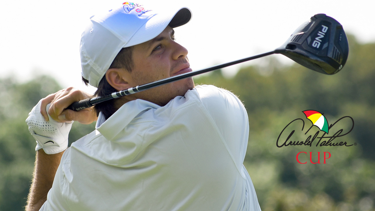 Perico Wins Singles Match on Final Day at Arnold Palmer Cup
