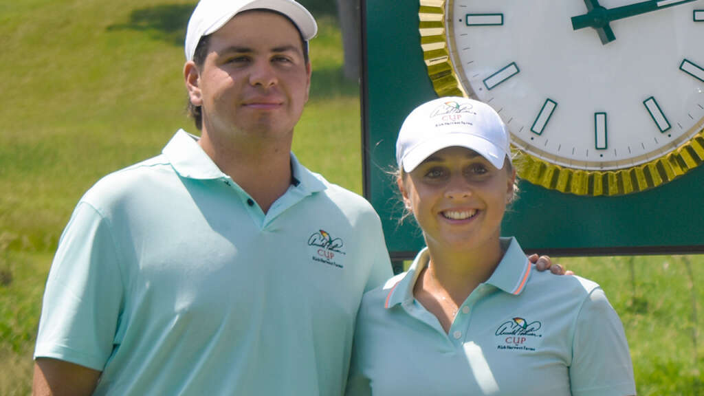 Perico On Day 1 at Arnold Palmer Cup