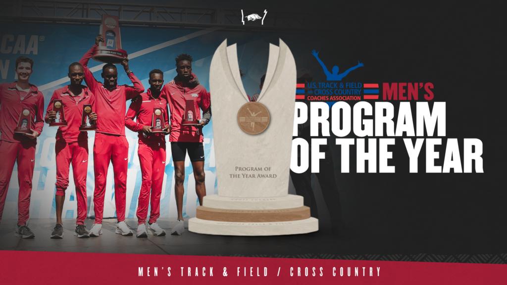 Razorbacks earn John McDonnell Program of the Year award