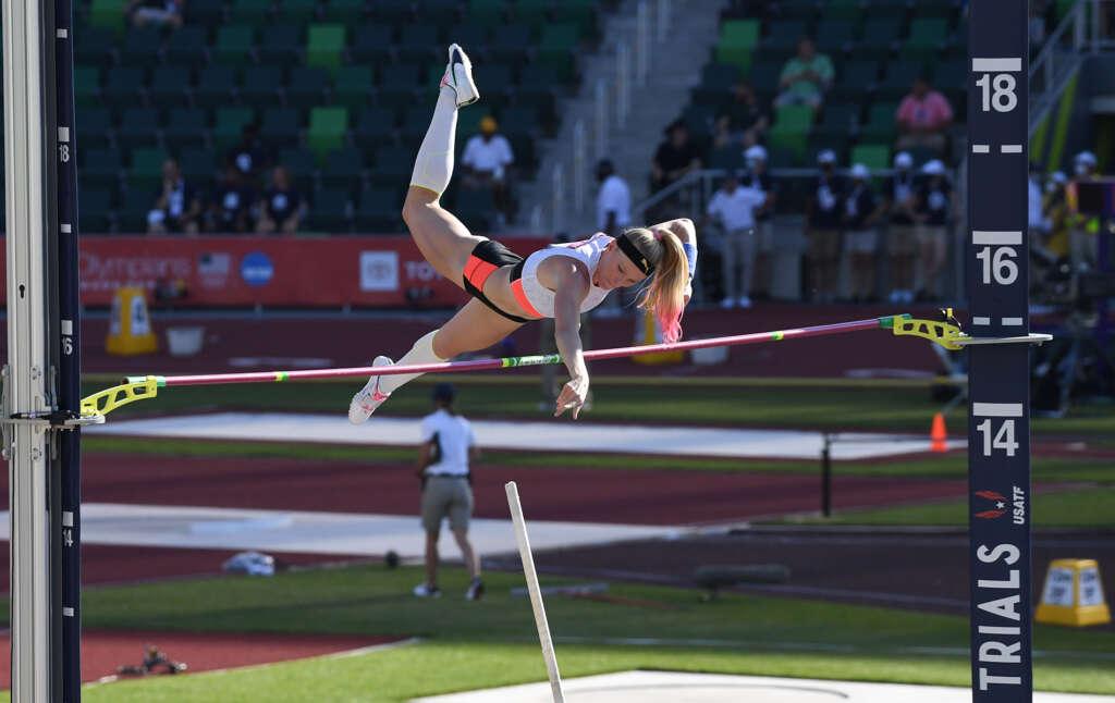 Sandi Morris places third to make second U.S. Olympic Team