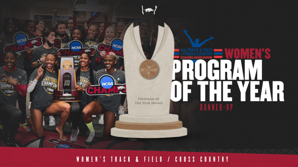 Arkansas runner-up in Terry Crawford Program of the Year