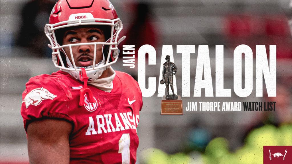 Catalon Named to Jim Thorpe Award Preseason Watch List