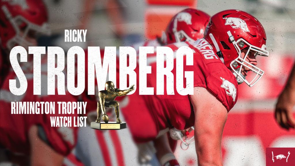 Stromberg Receives Rimington Trophy Watch List Nod