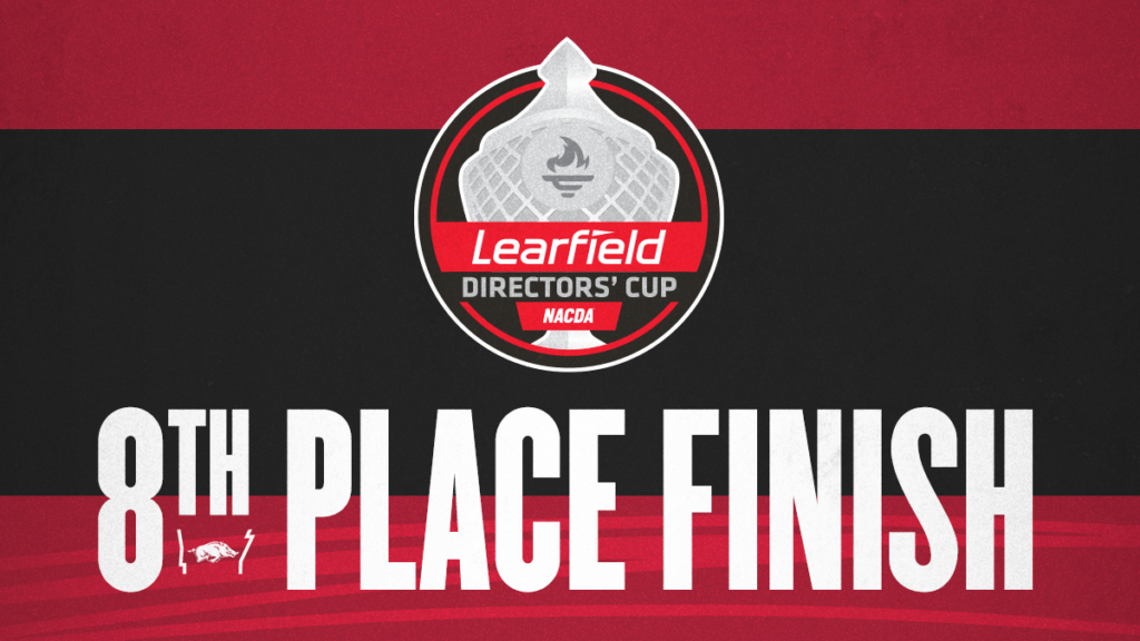 Arkansas Earns Record Top-10 Finish in Directors' Cup