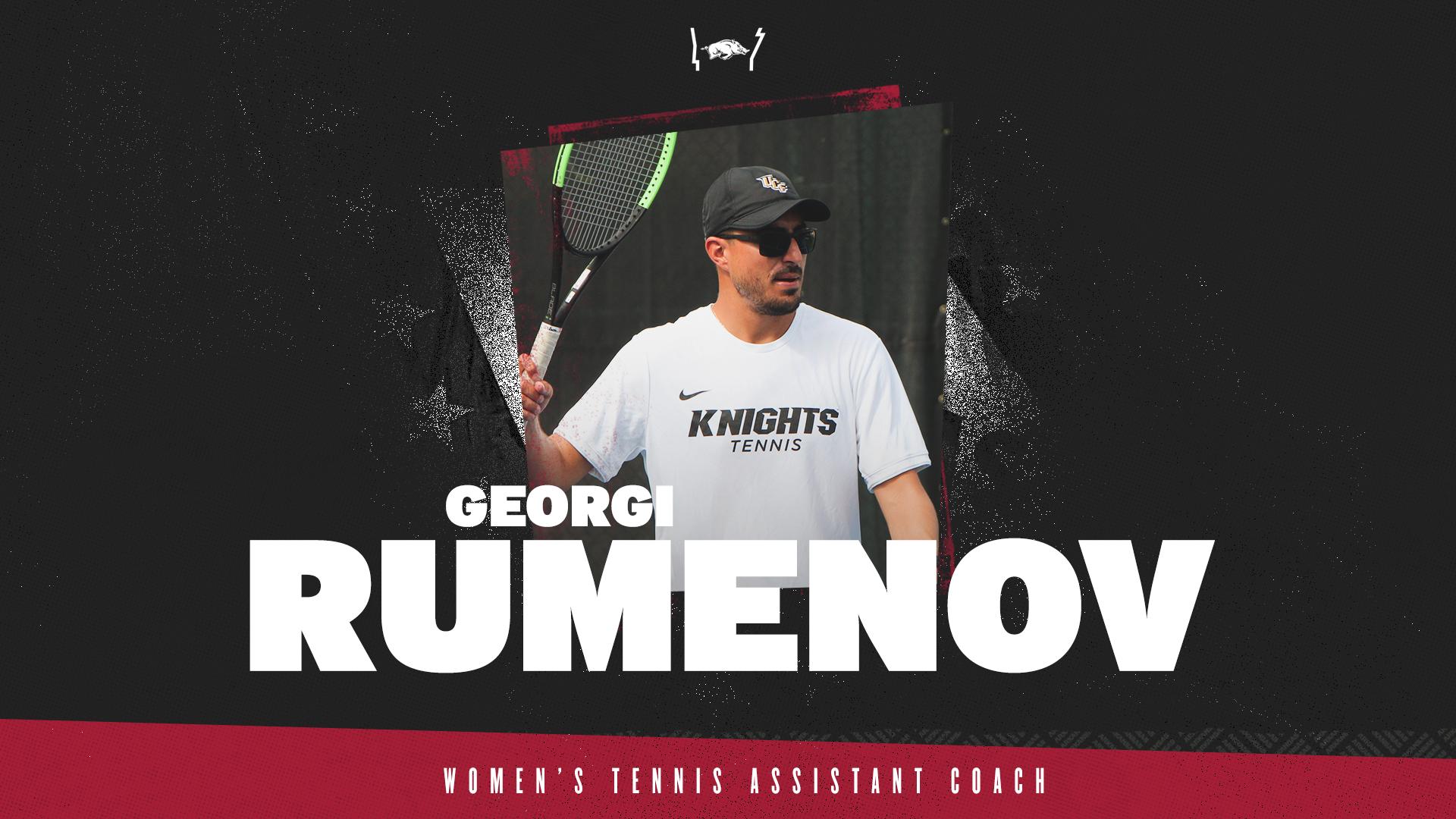Sanchez-Quintanar Names Georgi Rumenov Assistant Coach