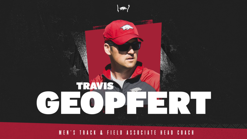Travis Geopfert returns to Razorback track & field coaching staff