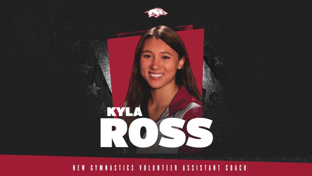 Kyla Ross Joins Razorbacks as Volunteer Assistant Coach