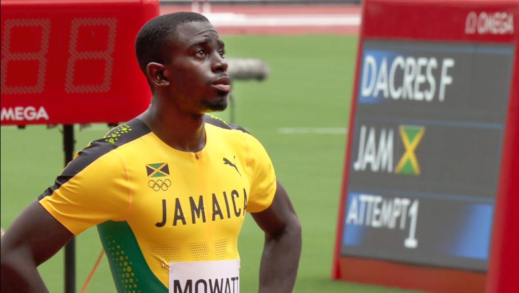 Kemar Mowatt 14th in Olympics 400m hurdles semi-final