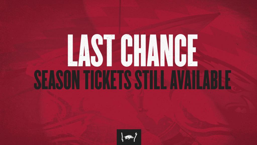 Last Chance: Basketball Season Tickets Still Available
