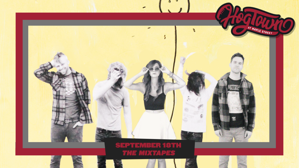 Premier 90's Alternative Cover Band 'The Mixtapes' to Perform in HogTown Saturday