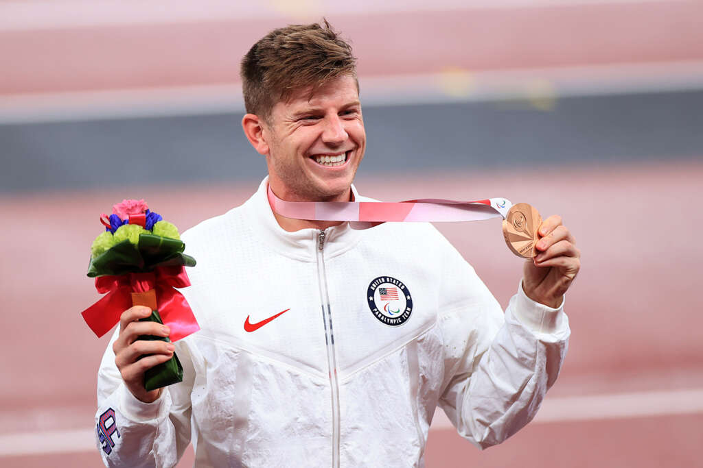 Hunter Woodhall claims bronze medal in Tokyo Paralympics
