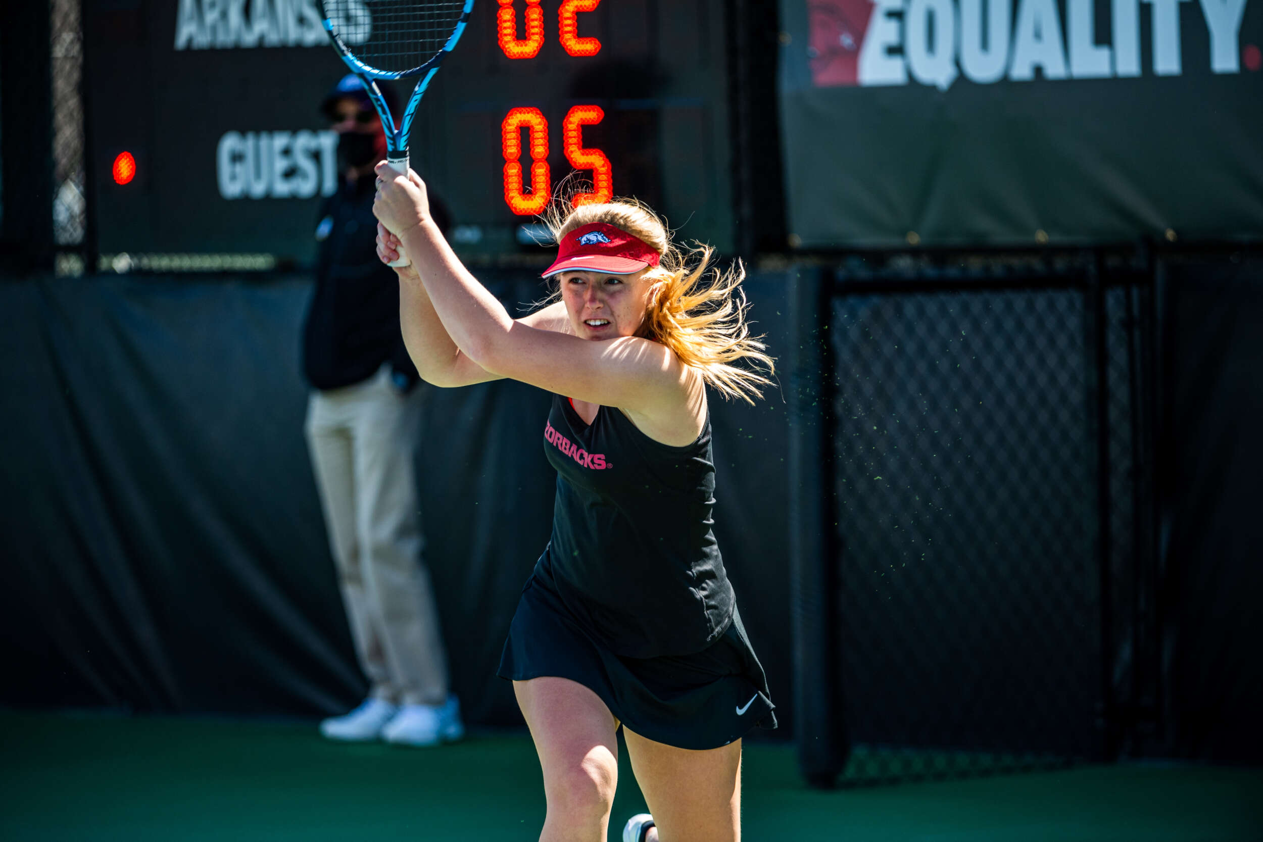 Spink Competes at ITA All-American Championships