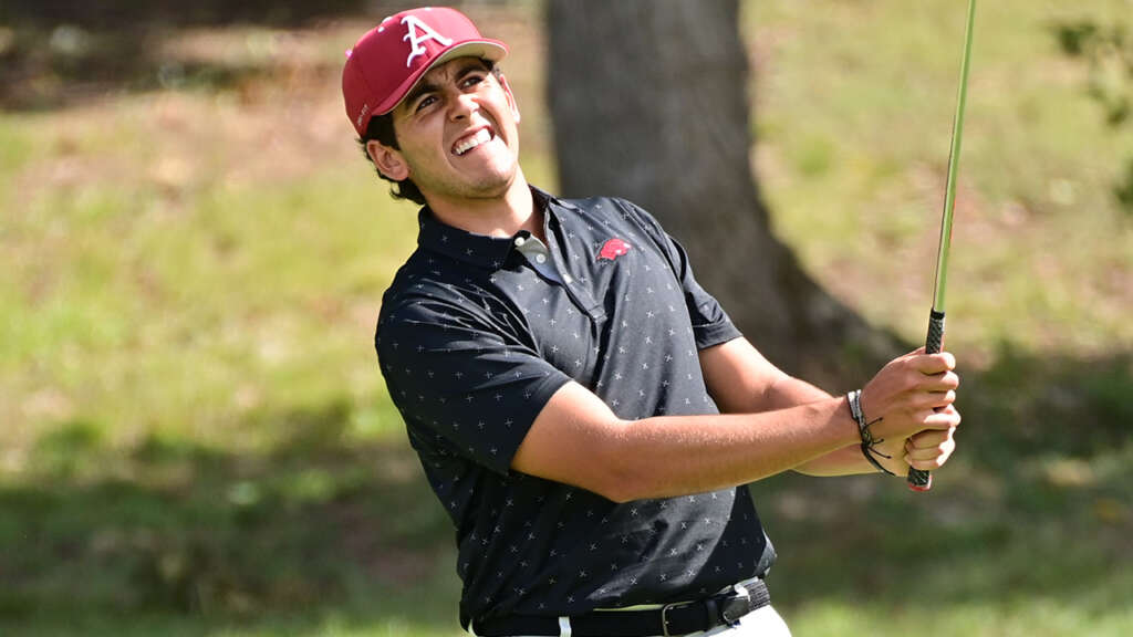 Razorbacks Defeat Miss State in SEC Match Play Opener; Rd2 Suspended