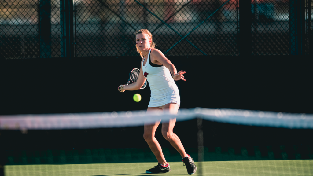 Women's Tennis Doubles Shine On Opening Day of ITA Central Regionals